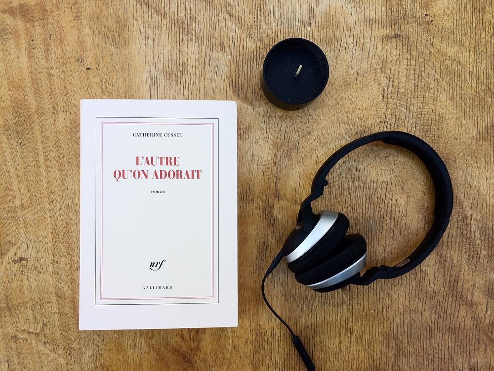 """Photo du livre """"L'autre qu'on adorait"""" de Catherine Clusset (2)"""