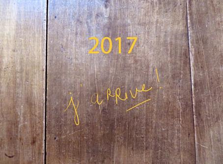 2017, j'arrive !