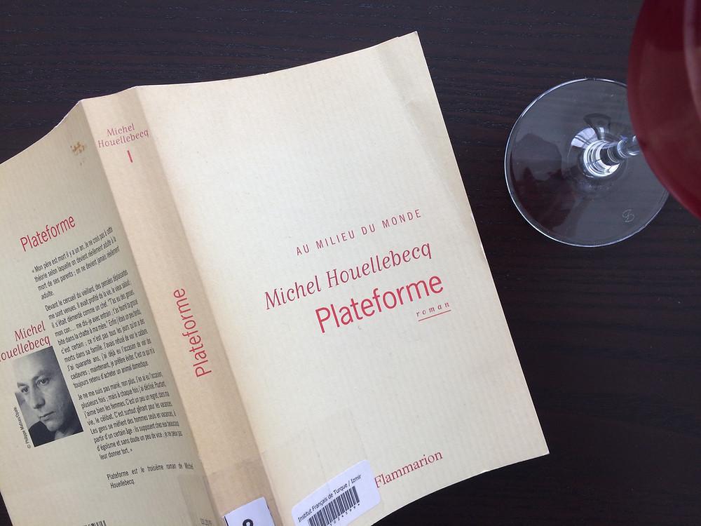 """Photo du livre """"Plateforme"""" de Michel Houellebecq (2)"""