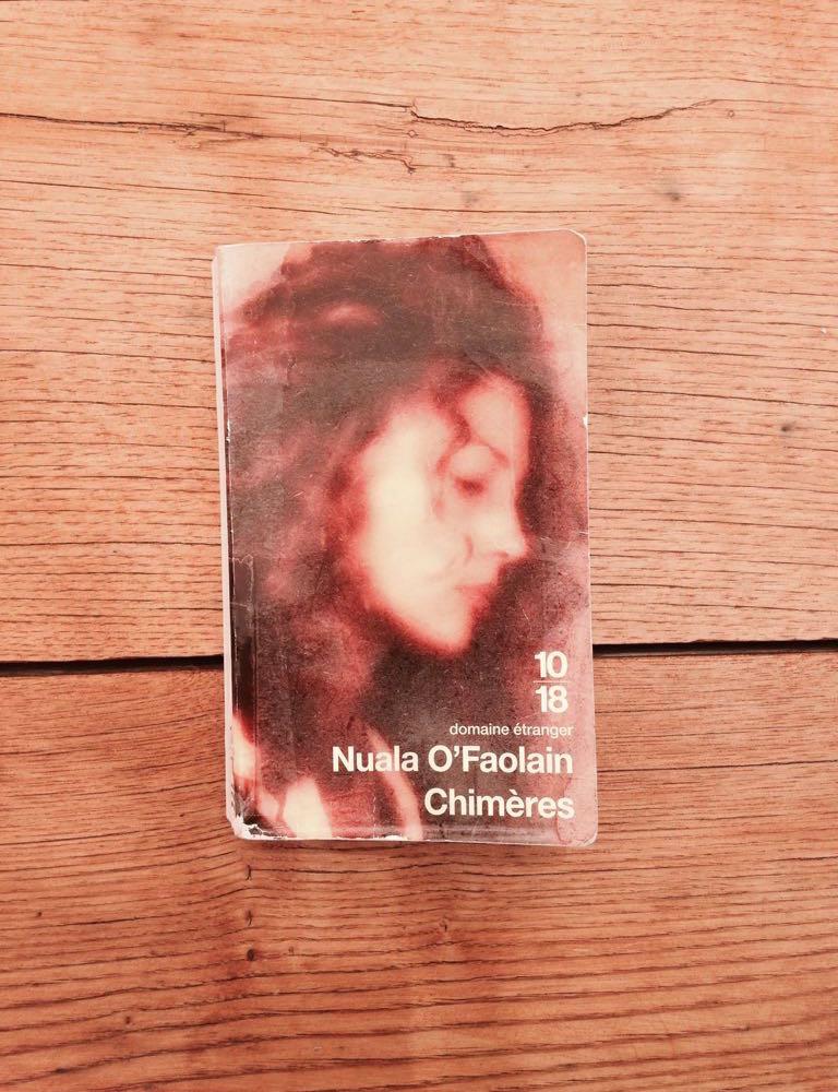 """Photo du livre """"Chimères"""" de Nuala O'Faolain (1)"""