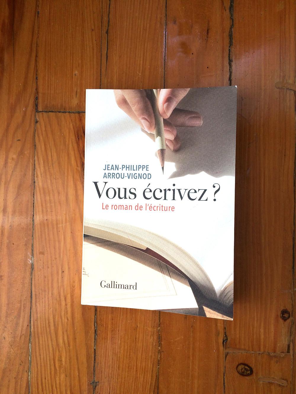 """Photo du livre """"Vous écrivez?"""" de Jean-Philippe Arrou-Vignod (1)"""