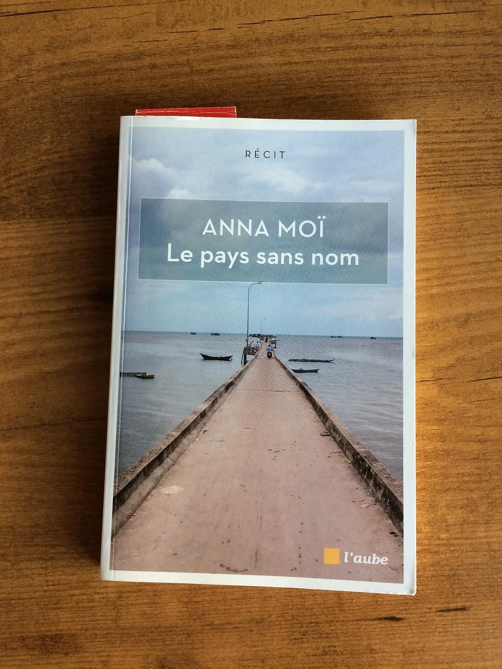 """Photo du livre """"Le pays sans nom"""" d'Anna Moï (1)"""
