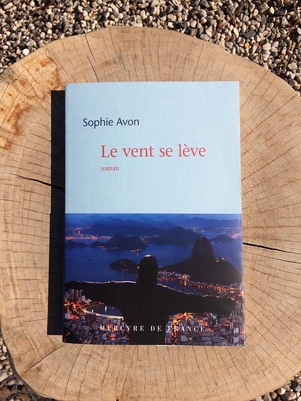 """Photo du livre """"Le vent se lève"""" de Sophie Avon (1)"""