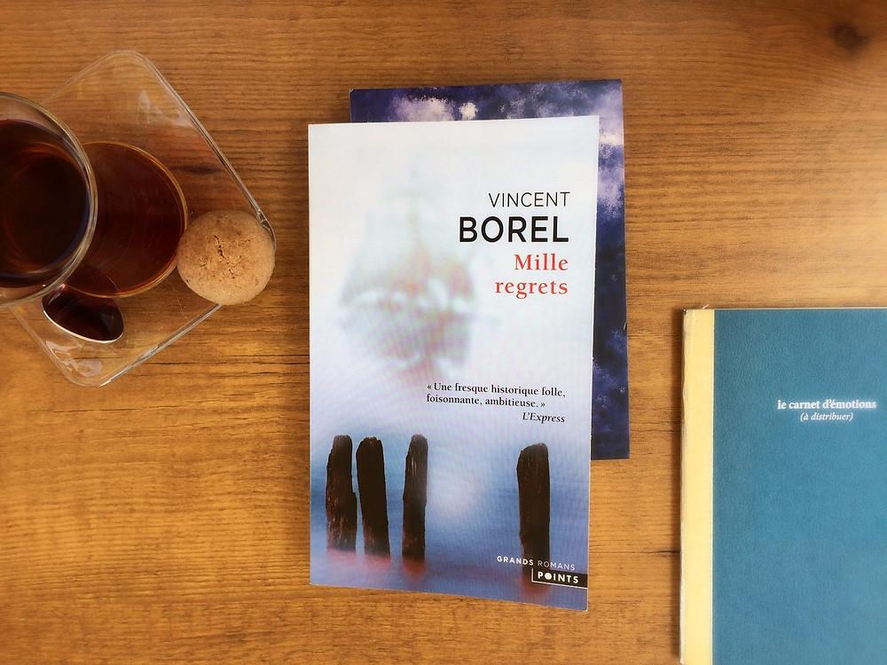 Photo du livre Mille regrets de Vincent Borel (2)