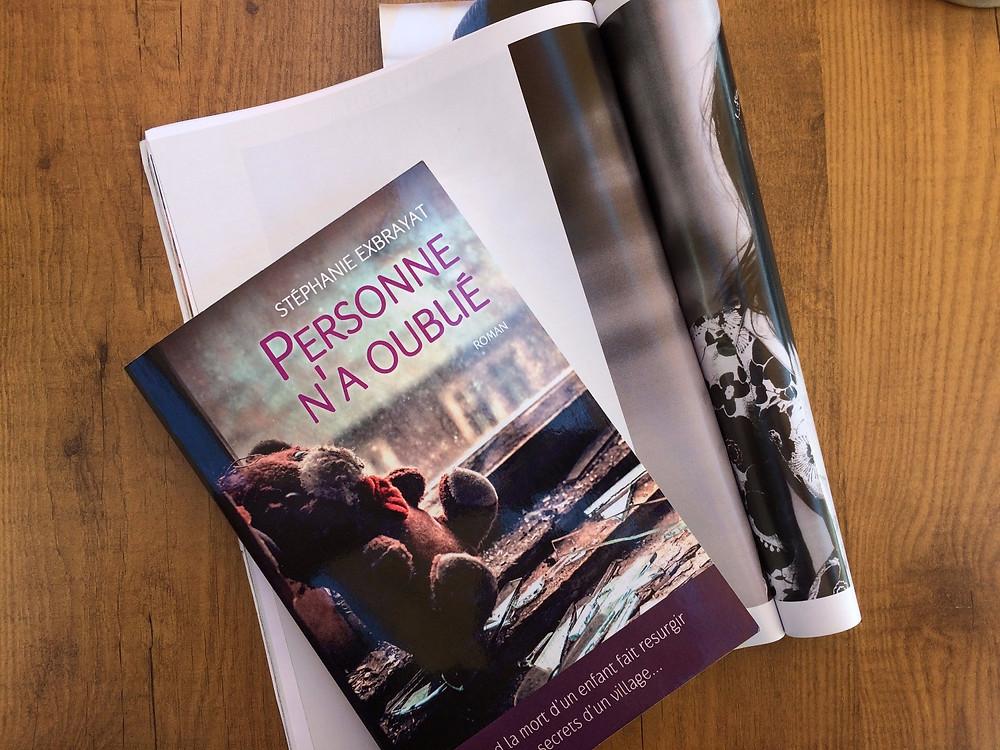 Photo du livre Personne n'a oublié de Stéphanie Exbrayat (2)