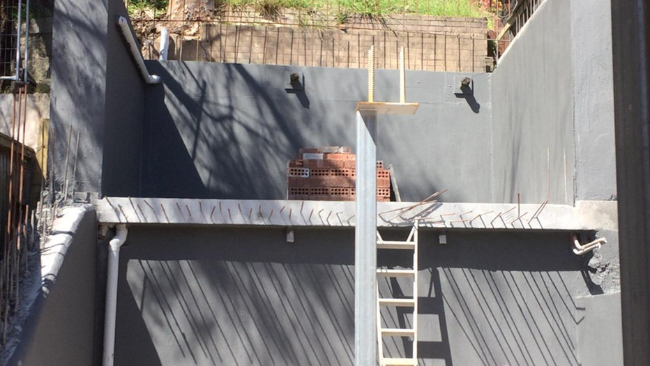 Coogee Retaining Wall