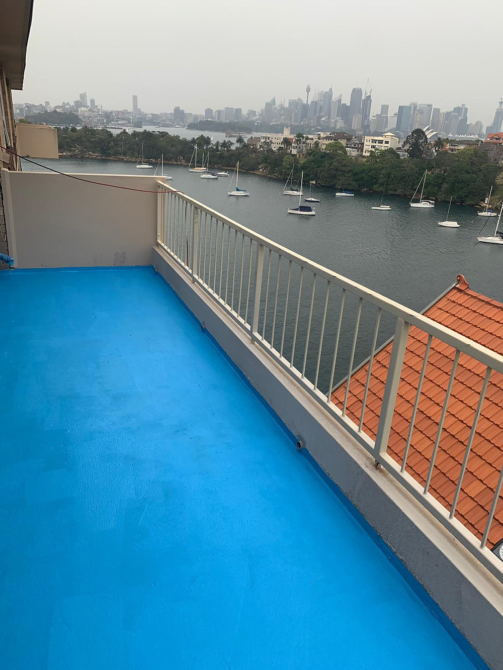 Balcony waterproofing Sydney