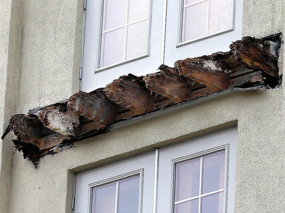 Failed Timber Balcony