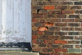 Corrosion of bricks and mortar