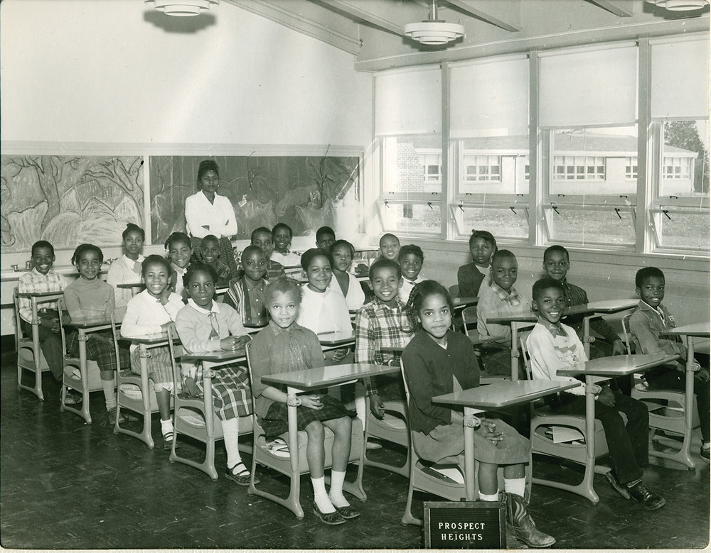 classroom of children from Prospect Heights School