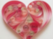 james madison museum Valentines quilling