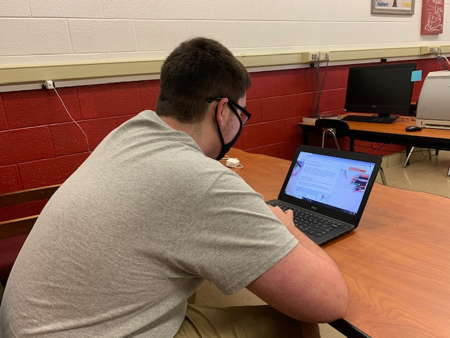 West High Junior Dawson Hunt is looking for information about the ACT.