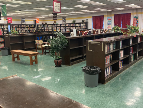 West High Library sees uprise in Checkouts