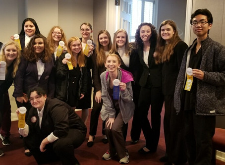 Morristown West High HOSA Attends Regional Competition