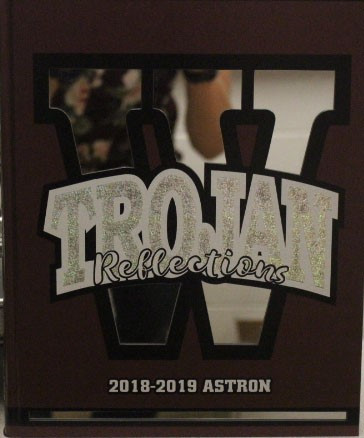 Front of the Yearbook of 2018-2019.