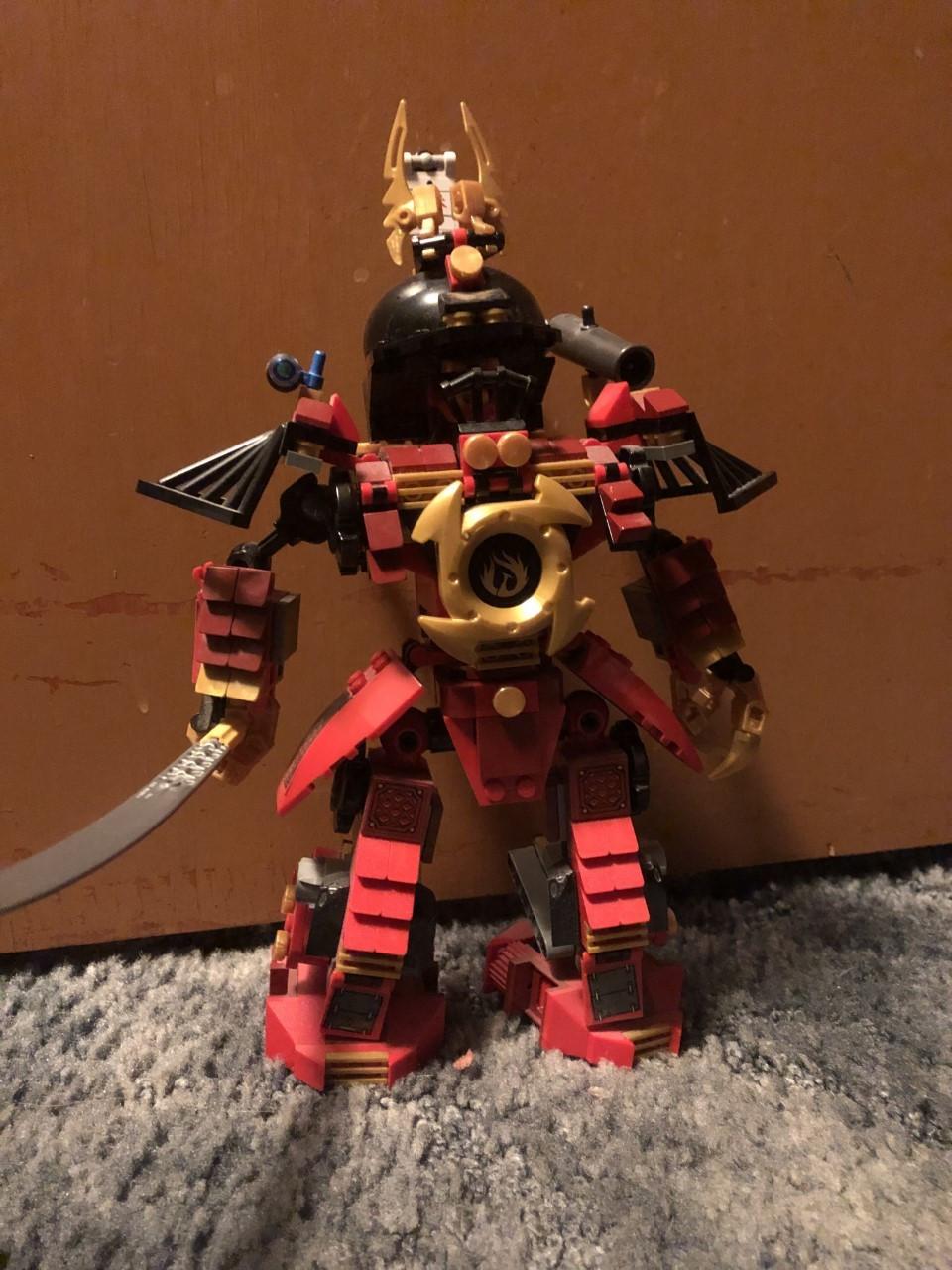 The authors lego man he built.