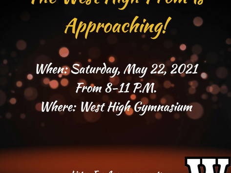Be Prepared For The West High Prom