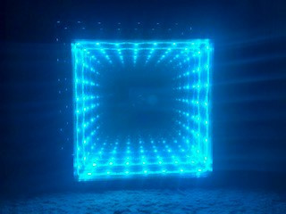 This here is an Infinity Mirror the Inventors Club completed last year.