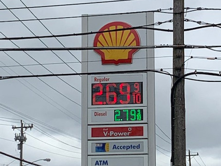 Gas Prices Rise Again Up To Ten Cents Increase