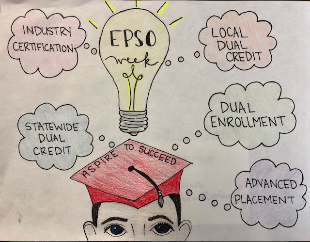 West High EPSO winning drawing