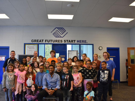 Boys and Girls Club Welcomes Chris Blue