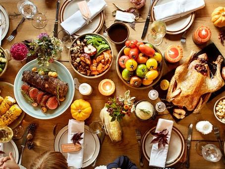 Thanksgiving Food Drive Items Due Tomorrow Fri. Nov. 13