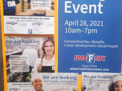 Food City Fires Off Job Fair