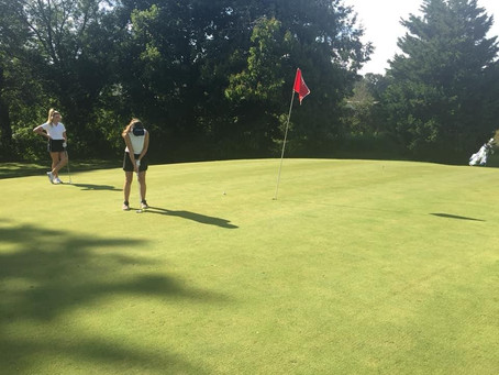 New Golf Team Swings into Action