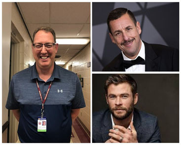The last question that the students were asked was on who they thought should play Mr. Landefeld. Deklyn Manuel said Chris Hemsworth and Yakelin Hernandez said Adam Sandler.