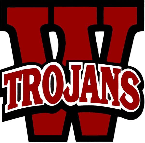 West High Trojans logo