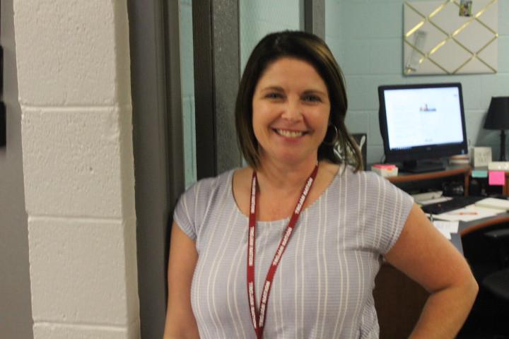 Tonya Ely loves to help students.