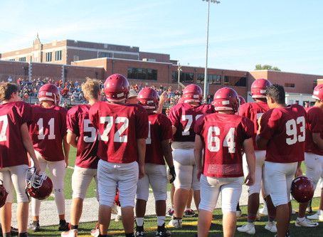 West Varsity Football Astounds Audience With Sensational Win
