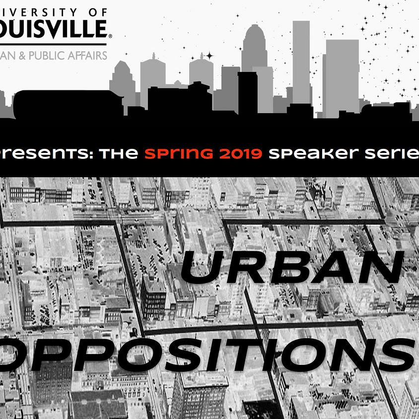 Lecture: Layla George Urban Oppositions