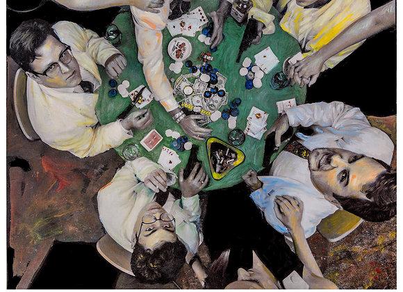 Love Jones Poker Painting Photo Print
