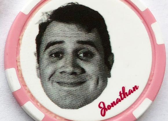 "Love Jones ""Jonathon"" Poker Chip (3 of 5)"