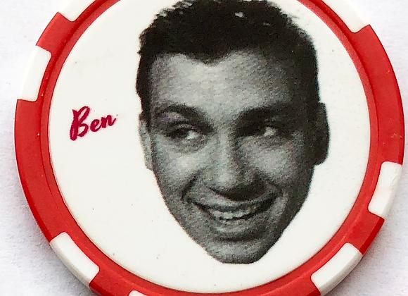 """Love Jones """"Ben"""" Poker Chip (1 of 5)"""