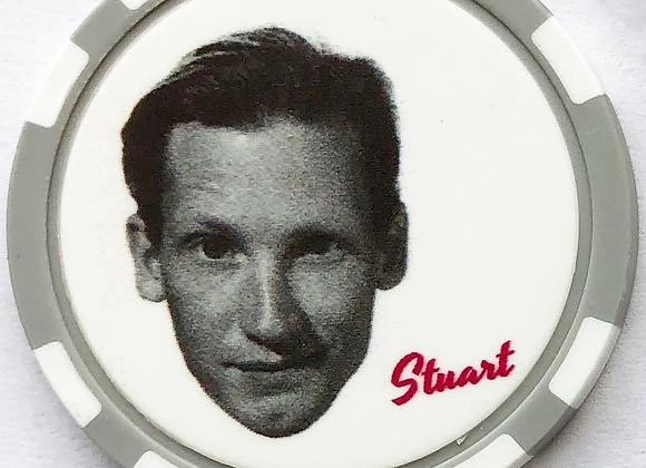 """Love Jones """"Stuart"""" Poker Chip (5 of 5)"""