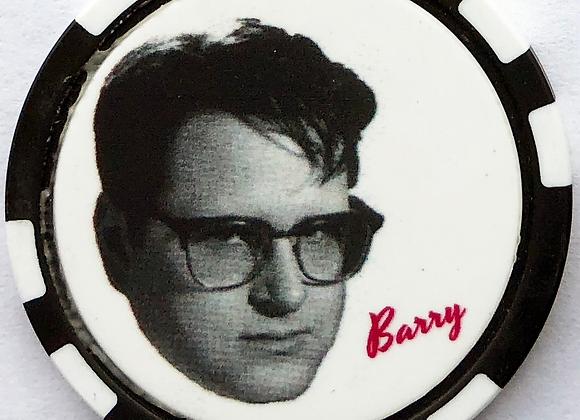 "Love Jones ""Barry"" Poker Chip (2 of 5)"