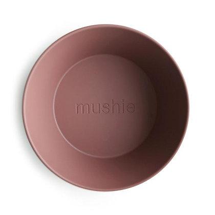 Mushie dinner bowls round