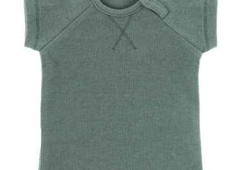 Riffle t-shirt rib grey