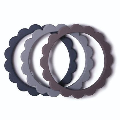 Flower bracelet teether