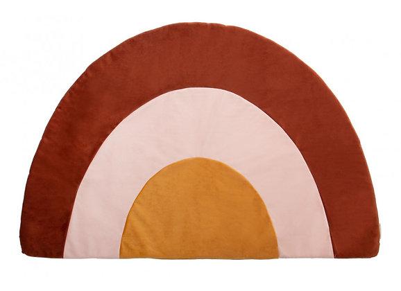 Nobodinoz Rainbow carpet • Velvet bruin