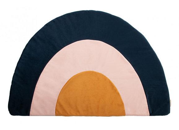 Nobodinoz Rainbow carpet • Velvet blauw