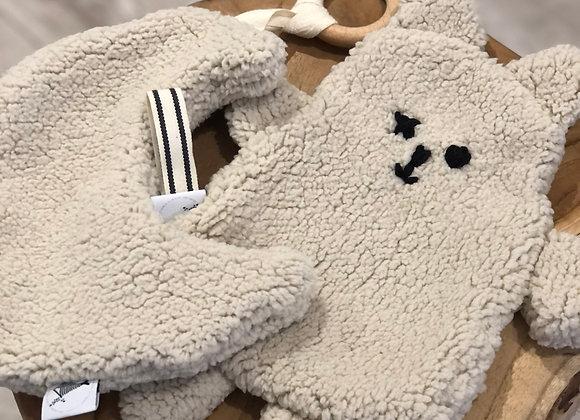 Maan en Kitten teddy knuffeldoek