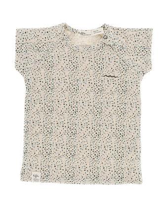 Riffle T-shirt korte mouw blokjes