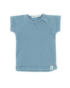 Riffle T-shirt rib blue