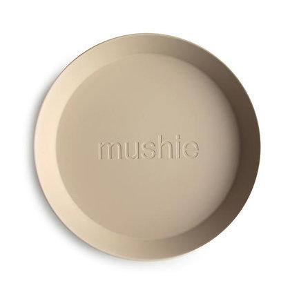 Mushie dinner plate round