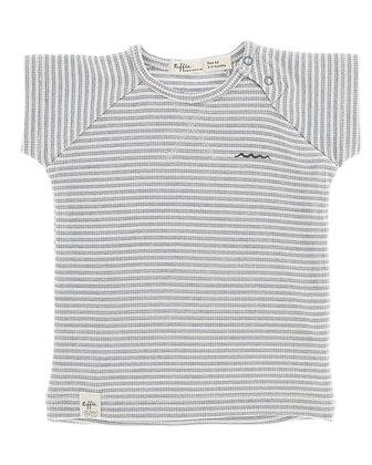 Riffle T-shirt blue stripe