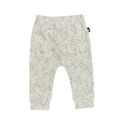 Mies&Co Legging Stitched Bunny