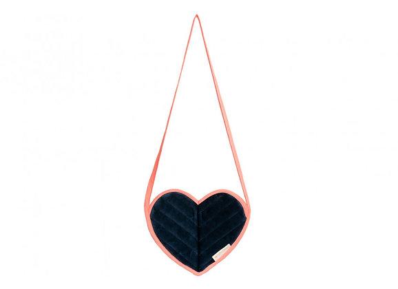 Nobodinoz Love mini bag  • Velvet blauw